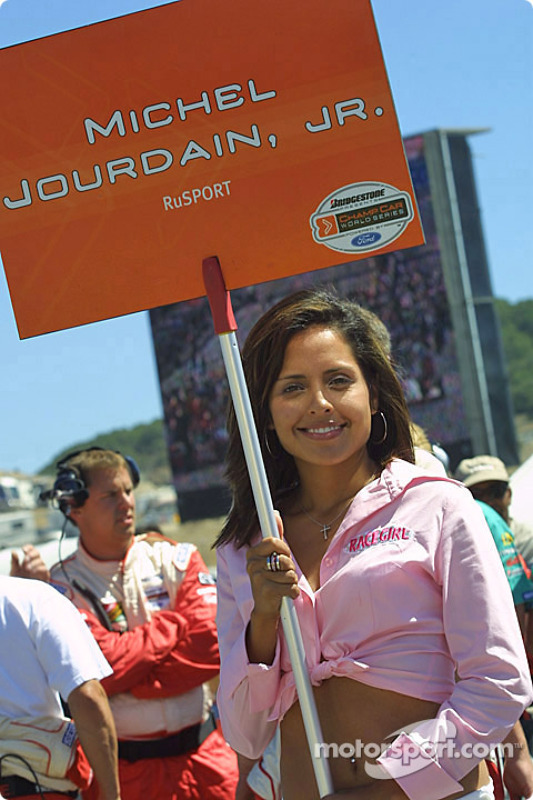 La Grid Girl de Michel Jourdain Jr.