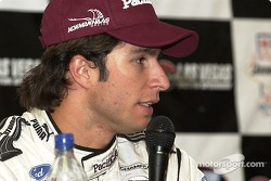 Bruno Junqueira express his fustration over Saturday nights race