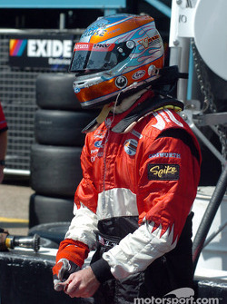 Jimmy Vasser prepares for qualifying