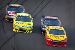 Kurt Busch, Penske Racing Dodge, Regan Smith, Furniture Row Racing Chevrolet, Carl Edwards, Roush Fenway Racing Ford, Greg Biffle, Roush Fenway Racing Ford