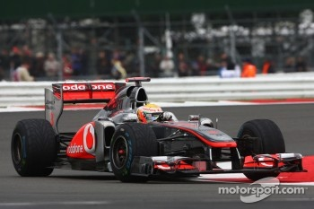 Many problems for McLaren at Silverstone