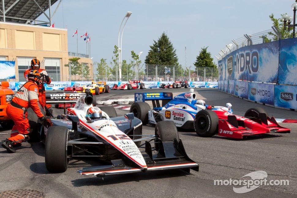 Will Power, Team Penske crashes