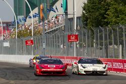 #007 Ferrari of Ontario Ferrari 458 Challenge: Robert Herjavec and #8 Ferrari of Ft. Lauderdale Ferrari 458 Challenge