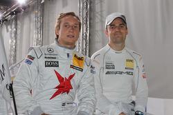 Renger van der Zande, Persson Motorsport, Mercedes C-Klasse, Jamie Green, Team HWA AMG Mercedes C-Klasse