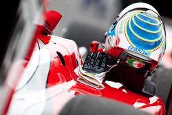 Luca Filippi helmet and gloves