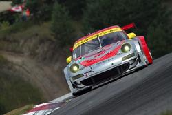 Jörg Bergmeister and Patrick Long, Porsche 911 GT3 RSR