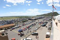 Staging Area at Bandimere Speedway, Morrison, Colorado