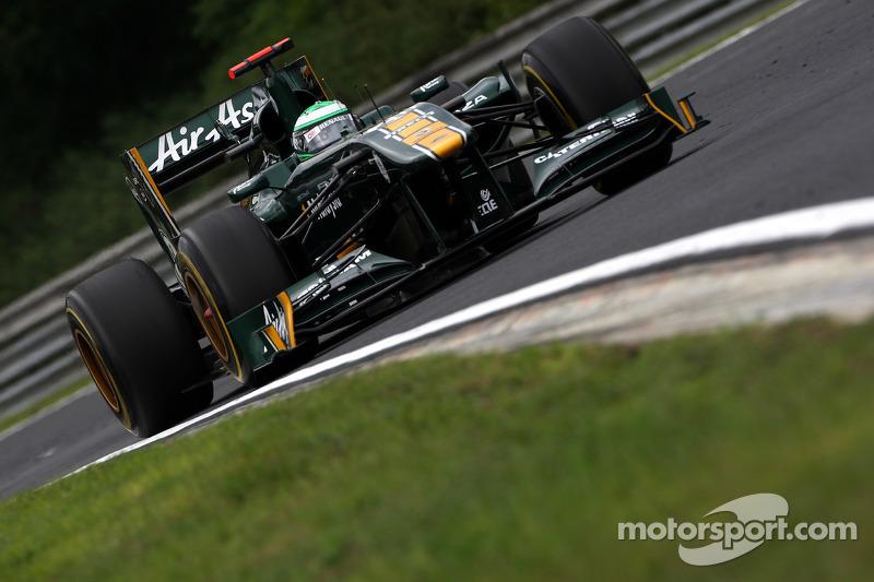 Team Lotus 2011: Heikki Kovalainen, Lotus T128