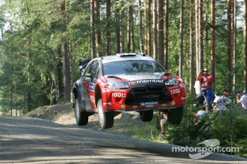 Petter Solberg and Chris Patterson, Citroën DS3 WRC, Petter Solberg Rallying