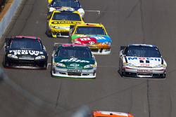Dale Earnhardt Jr., Hendrick Motorsports Chevrolet and Tony Stewart, Stewart-Haas Racing Chevrolet