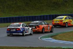 Kristian Poulsen BMW 320 TC, Liqui Moly Team Engstler y Norbert Michelisz BMW 320 TC, Zengo-Dension