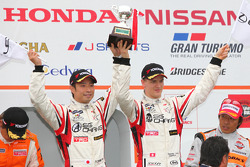 Podium GT300 Winner: #14 Sg Changi IS350: Ryo Orime, Alexandre Imperatori
