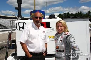 Bobby Rahal and Pippa Mann, Rahal Letterman Lanigan Racing