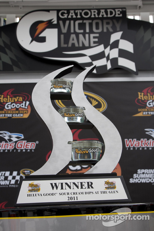 Le trophée du vainqueur