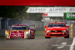 #60 Michael Shank Racing Ford Riley: Oswaldo Negri, John Pew and #07 Banner Racing Camaro GT.R: Mike Skeen, Gunter Schaldach