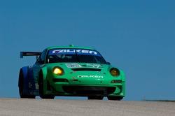 #17 Team Falken Tire Porsche 911 GT3 RSR: Wolf Henzler, Bryan Sellers