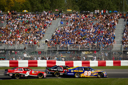 Patrick Carpentier, Pastrana Waltrip Racing Toyota, Boris Said, Chevrolet, Ron Fellows, Hendrick Motorsport Chevrolet
