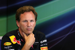 Press conference: Christian Horner, Red Bull Racing, Sporting Director