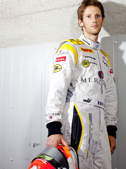 Photoshoot with 2011 GP2 Series champion Romain Grosjean