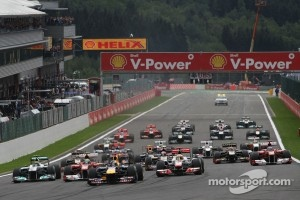 Spa Francorchamps start last year