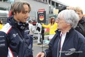 Adam Parr, Williams F1 Team and Bernie Ecclestone