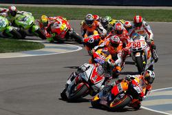 Inicio: Dani Pedrosa, Repsol Honda Team líder