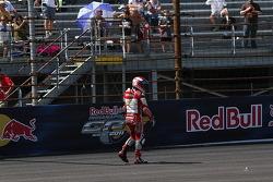 Hector Barbera, Mapfre Aspar Team MotoGP choca