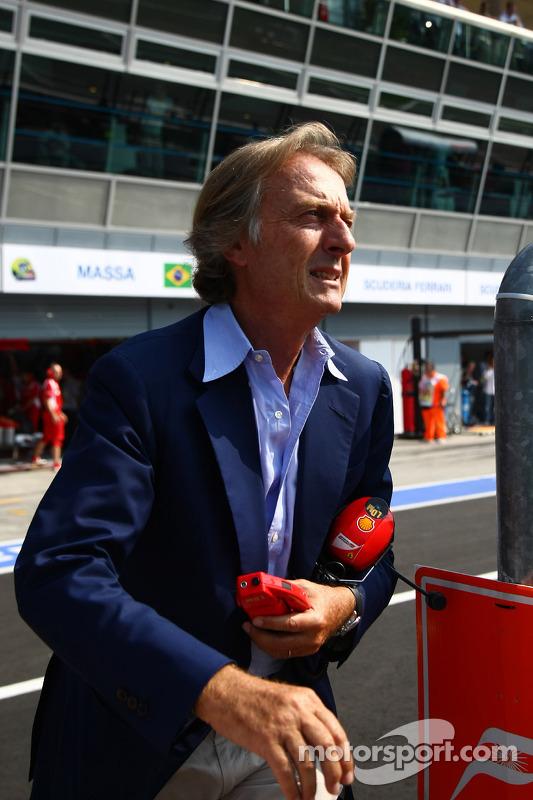 Luca di Montezemolo, Scuderia Ferrari, FIAT Chairman and President of Ferrari