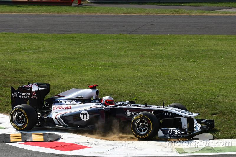 2010: Рубенс Баррикелло (из Brawn в Williams)