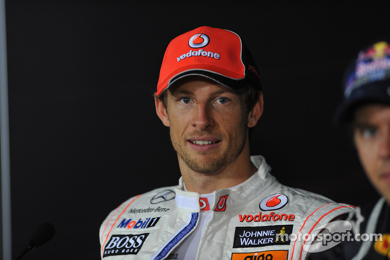 Press conference: second place Jenson Button, McLaren Mercedes