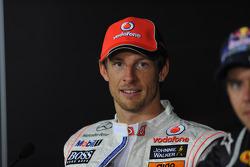 Press conference: second place Jenson Button, McLaren Mercedes
