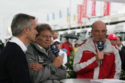 Jens Marquardt BMW Motorsport Director, Norbert Haug, Sporting Director Mercedes-Benz, Dr. Wolfgang Ullrich, Audi's Head of Sport