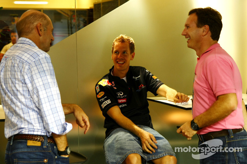 Christian Horner, Red Bull Racing, Sporting Director, Adrian Newey, Red Bull Racing, Technical Opera