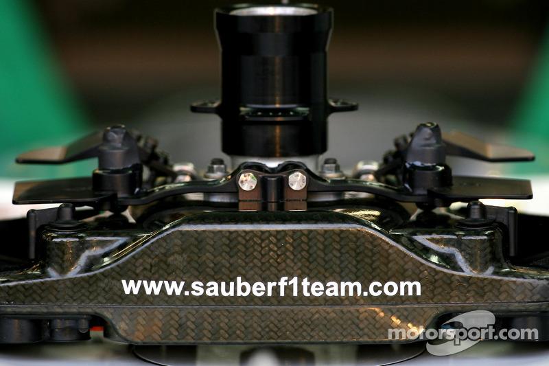 Sauber F1 Team steering wheels
