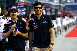 Sebastian Vettel, Red Bull Racing y Mark Webber, Red Bull Racing