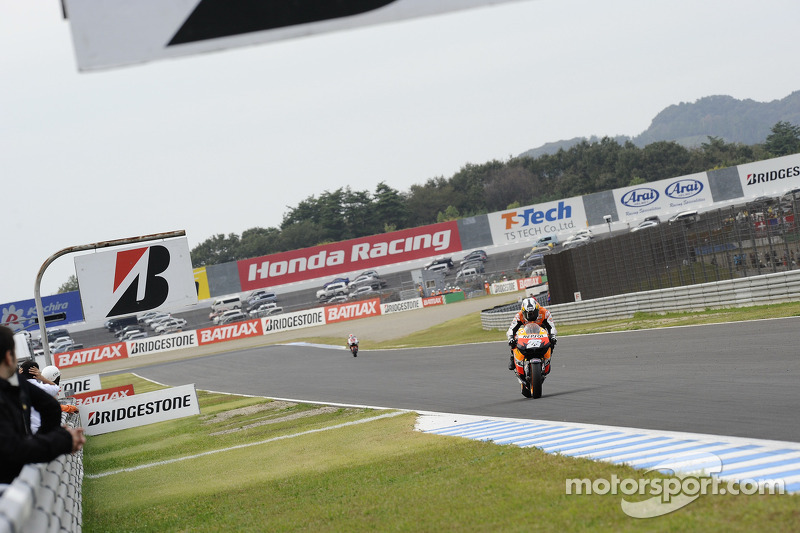 2011 winner Dani Pedrosa for the Repsol Honda Team
