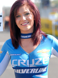 Silverline Chevrolet Grid Girl, Caroline Hall