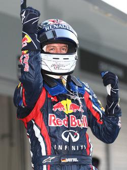Sebastian Vettel, Red Bull Racing new world champion