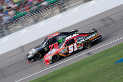 Regan Smith, Furniture Row Racing Chevrolet and Landon Cassill, Chevrolet