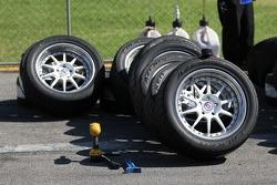 Spare HRE Wheels for the Falken Team