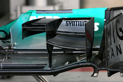 Mercedes GP Technical detail front wing