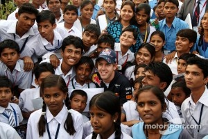 Vettel was impressed with the Indian way of life