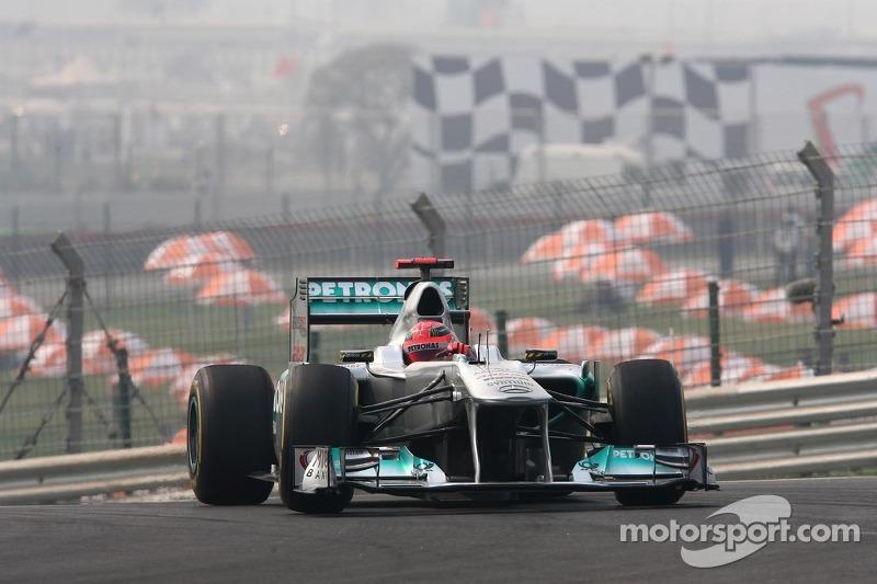 2011: Mercedes MGP W02