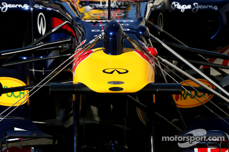 Red Bull Racing testing new parts