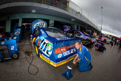 Car of Brad Keselowski, Penske Racing Dodge