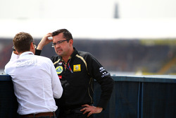 Eric Lux, Team Principal, Lotus Renault GP