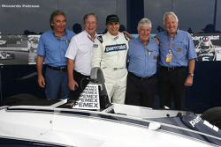 Nelson Piquet, Charlie Whiting, en Herbie Blash