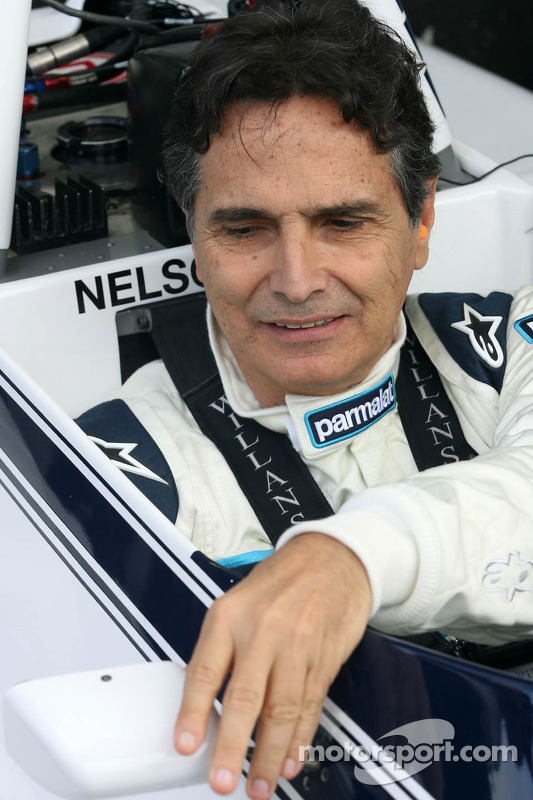 Nelson Piquet, drives the Brabham BT49