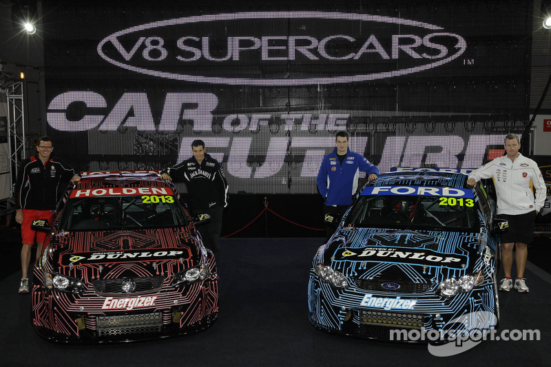 The 2013 Holden and Ford Cars of the Future