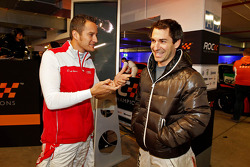 Timo Scheider and Timo Glock